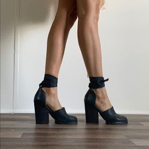 Jeffery Campbell leather heels